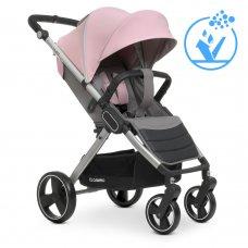 Детская прогулочная коляска-книжка EL CAMINO DYNAMIC ME 1053 Pale Pink розовый