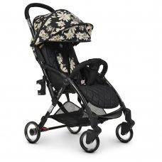 Детская прогулочная коляска El Camino WISH ME 1058 Floral Black черный