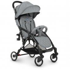 Детская прогулочная коляска El Camino WISH ME 1058 Gray серый
