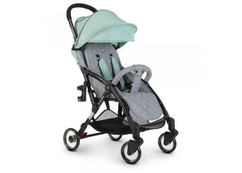 Детская прогулочная коляска El Camino WISH ME 1058 Mint Gray серо-мятный