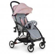 Детская прогулочная коляска El Camino WISH ME 1058 Pink Gray серо-розовый