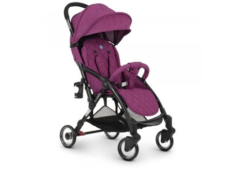 Детская прогулочная коляска El Camino WISH ME 1058 Purple фиолетовый