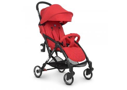 Детская прогулочная коляска El Camino WISH ME 1058 Red красный