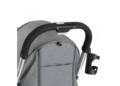 Детская прогулочная коляска El Camino Milly ME 1059 Fog Gray серый