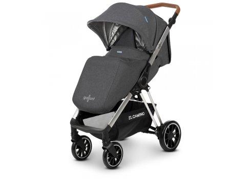Прогулочная коляска для детей от рождения до 3 лет EL CAMINO GALLANT ME 1071 Dark Gray серый