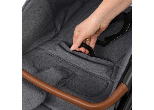 Прогулочная коляска для детей от рождения до 3 лет EL CAMINO GALLANT ME 1071 Graphite серый