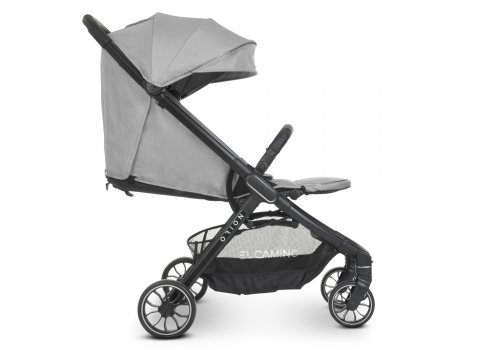 Детская прогулочная коляска EL CAMINO ORION ME 1084 Silver серый