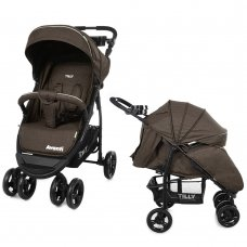 Детская прогулочная коляска Tilly Avanti Avanti T-1406 Brown в льне