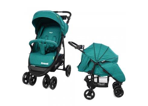 Детская прогулочная коляска Tilly Avanti Avanti T-1406 Green в льне