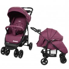 Детская прогулочная коляска Tilly Avanti Avanti T-1406 Purple в льне