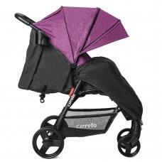 Прогулочная коляска Carrello Maestro CRL-1414/1 Purple Iris в льне