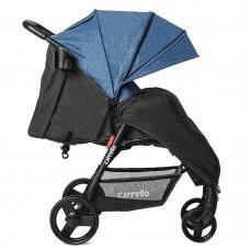 Прогулочная коляска Carrello Maestro CRL-1414/1 Water Blue в льне