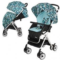 Детская прогулочная коляска-книжка El Camino Amore, M 3405-12 голубой