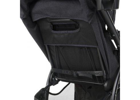 Прогулочная коляска-книжка El Camino Favorit M 3409L Dark Gray графитовый