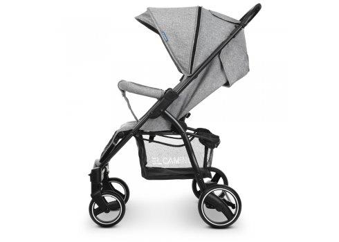 Прогулочная коляска-книжка El Camino Favorit M 3409L Gray серый