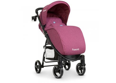 Прогулочная коляска-книжка El Camino Favorit M 3409L Purple пурпурный