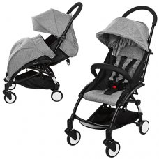 Детская прогулочная коляска Yoga, M 3548-11 серый