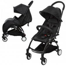 Детская прогулочная коляска Yoga, M 3548-2 черный