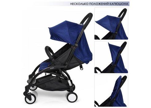 Детская прогулочная коляска Yoga, M 3548-4 синий