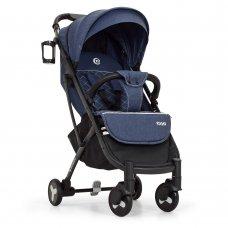 Детская прогулочная коляска Yoga II на алюминиевой раме, M 3910-4 синий