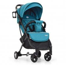 Детская прогулочная коляска Yoga II на алюминиевой раме, M 3910-5 бирюза