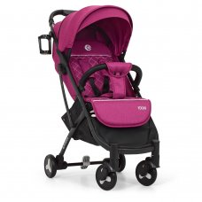 Детская прогулочная коляска Yoga II на алюминиевой раме, M 3910-6 фиолетовый