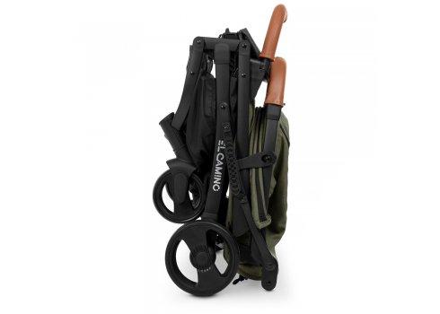 Детская прогулочная коляска Yoga II на черной раме M 3910 Mossy Green