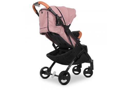 Детская прогулочная коляска Yoga II на черной раме M 3910 Pale Pink