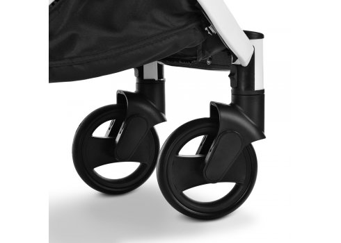 Детская прогулочная коляска Yoga II на белой раме M 3910 Sand-W