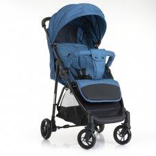 Детская прогулочная коляска-книжка Bambi M 4249 BLUE синий