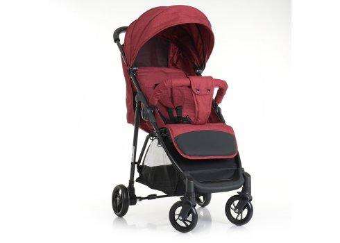 Детская прогулочная коляска-книжка Bambi M 4249 RED красная