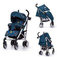 Детская прогулочная коляска-трость Carrello Allegro CRL-10101/1 Aviation Blue в льне