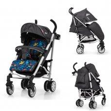 Детская прогулочная коляска-трость Carrello Allegro CRL-10101/1 Aviation Grey в льне