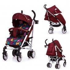 Детская прогулочная коляска-трость Carrello Allegro CRL-10101/1 Kitty Red в льне