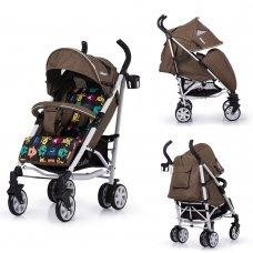 Детская прогулочная коляска-трость Carrello Allegro CRL-10101/1 Monster Gold в льне
