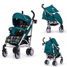 Детская прогулочная коляска-трость Carrello Allegro CRL-10101/1 Monster Green в льне