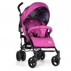Детская прогулочная коляска El Camino Rush, ME 1013-9 розовый