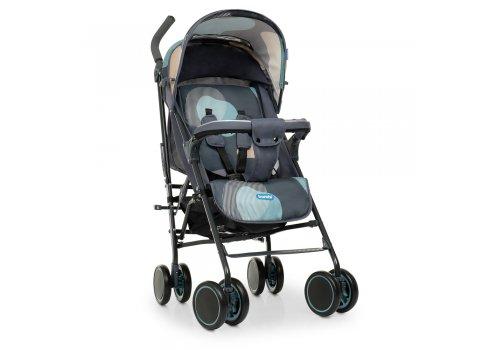 Детская прогулочная коляска-трость Bambi M 4244 Gray Blue серо-голубой