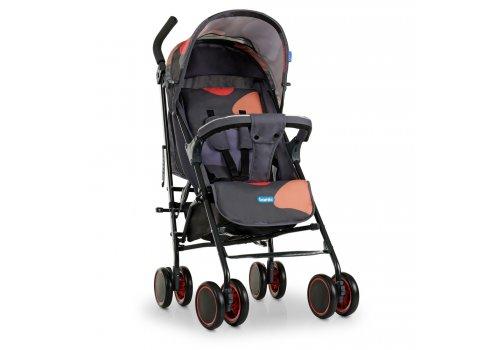 Детская прогулочная коляска-трость Bambi M 4244 Gray Orange серо-оранжевый