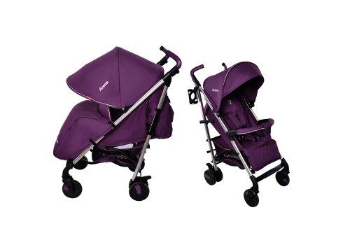 Детская прогулочная коляска-трость Carrello Arena CRL-8504 Amethyst на алюминиевой раме