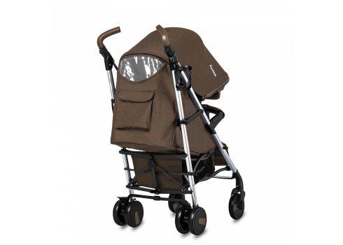 Прогулочная коляска-трость на алюминиевой раме Carrello Arena CRL-8504 Gold Brown в льне