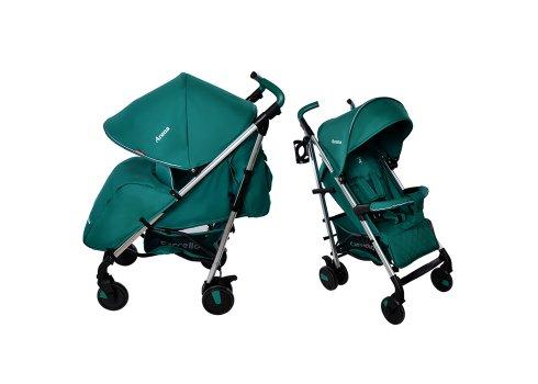 Детская прогулочная коляска-трость Carrello Arena CRL-8504 Marine Green на алюминиевой раме