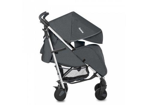 Прогулочная коляска-трость на алюминиевой раме Carrello Arena CRL-8504 Storm Gray в льне