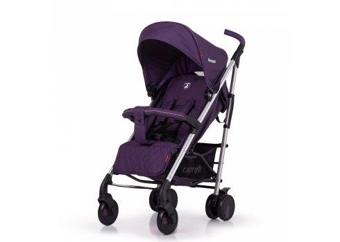 Прогулочная коляска-трость на алюминиевой раме Carrello Arena CRL-8504 Ultra Violet в льне
