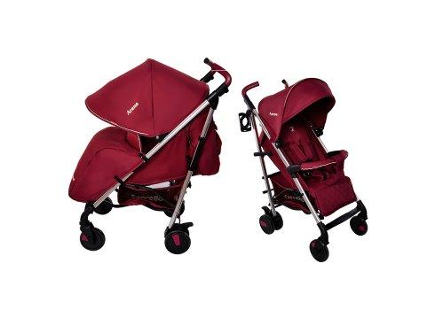 Детская прогулочная коляска-трость Carrello Arena CRL-8504 Raspberry на алюминиевой раме