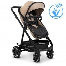 Детская коляска-трансформер 2в1 EL CAMINO ALLIANCE ME 1069 Denim Beige