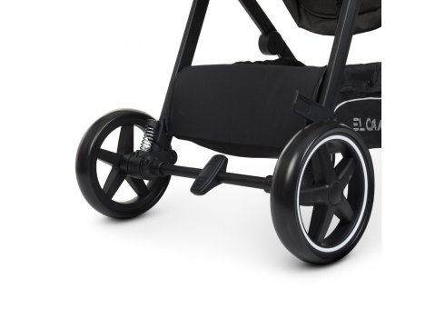 Детская коляска-трансформер 2в1 EL CAMINO ALLIANCE ME 1069 Denim Dark Gray