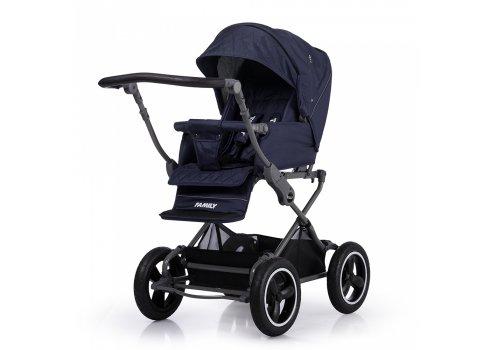 Универсальная прогулочная коляска TILLY Family T-181 Blue синий