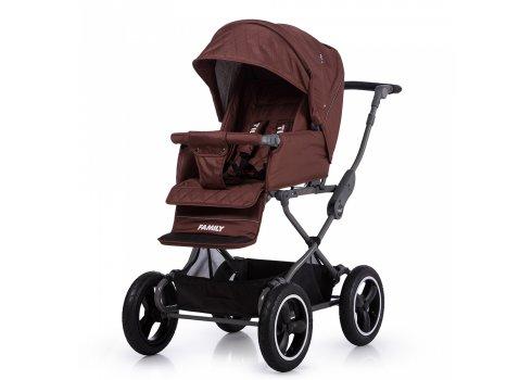 Универсальная прогулочная коляска TILLY Family T-181 Brown коричневый