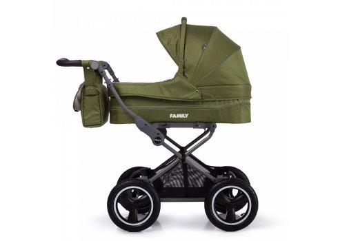 Универсальная прогулочная коляска TILLY Family T-181 Green зеленый